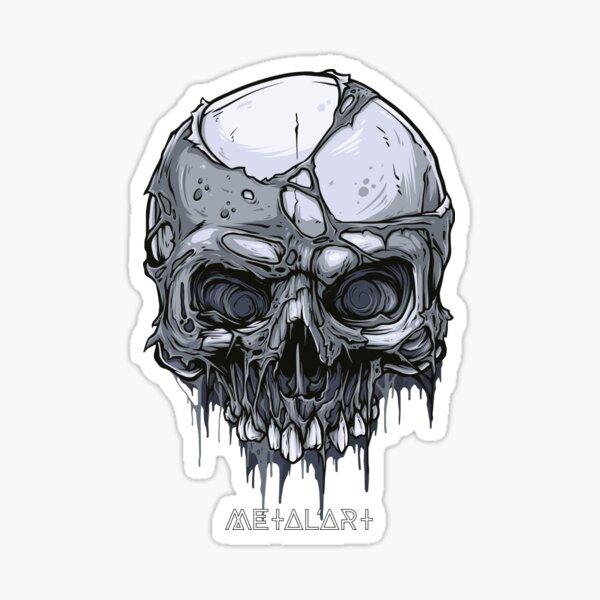 The Skull - 02 Sticker