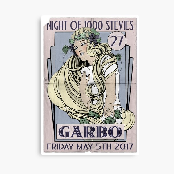 NOTS 27: Garbo Poster Canvas Print
