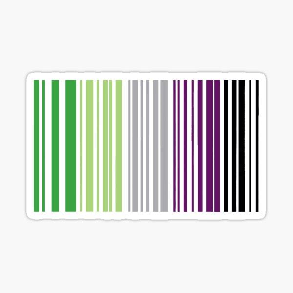 Aroace Barcode Sticker Sticker