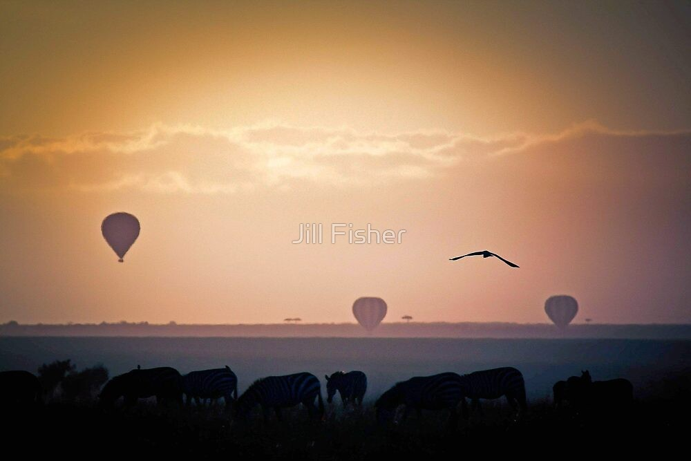 Beasts, Birds and Balloons by Jill Fisher
