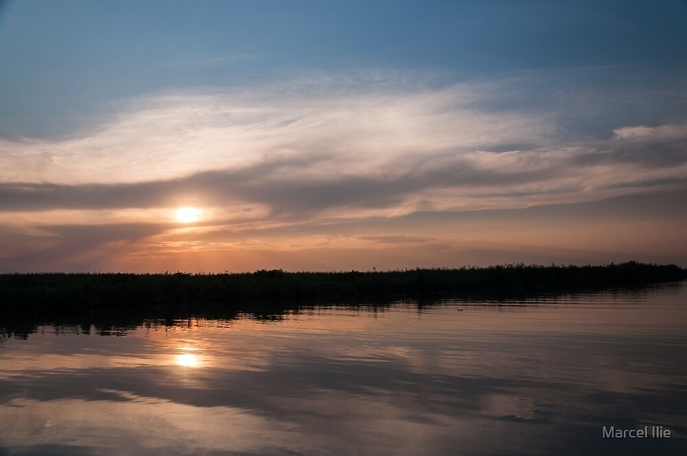 Two sunsets by Marcel Ilie