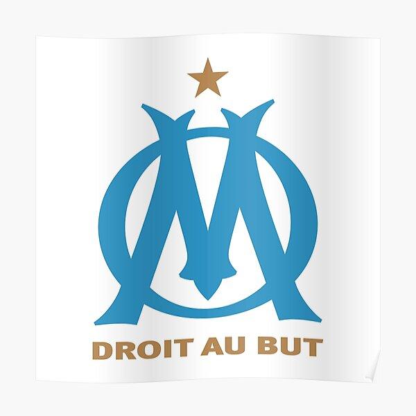 Olympique De Marseille Poster By Designsulove Redbubble