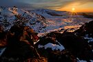 End of the Day, Central Plateau by Michael Treloar