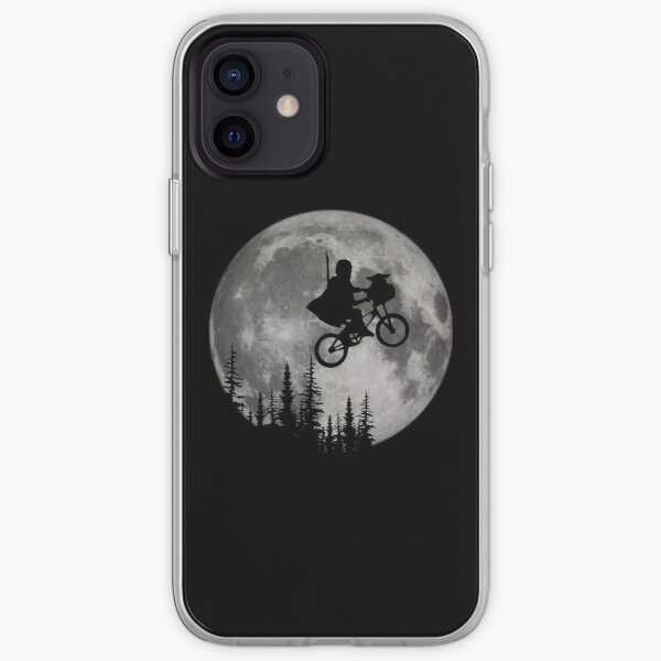 Across The Moon With The Child iPhone Soft Case