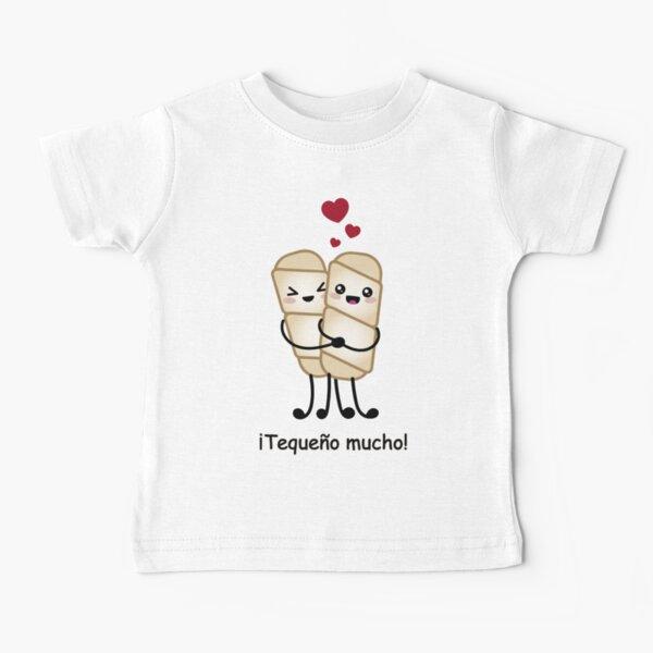 Tequeño mucho Venezuelan love Baby T-Shirt