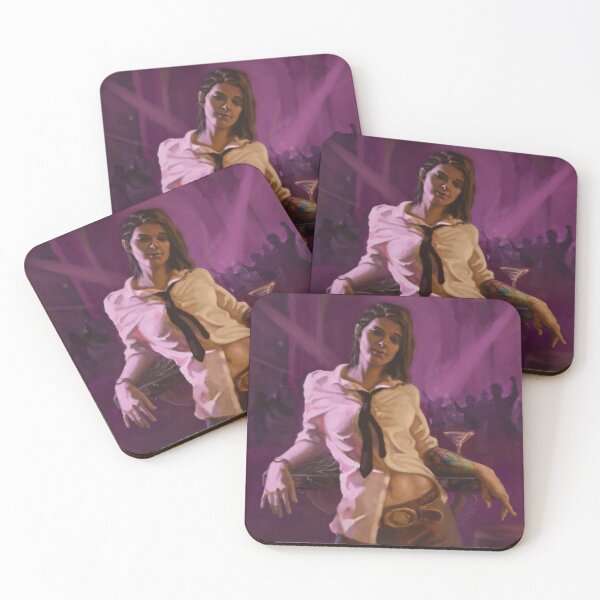 Pride from 'The Bartender's Pride by TJ Dallas'  Coasters (Set of 4)