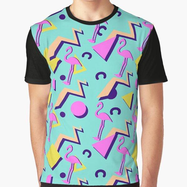 Patrón de Memphis de los 80 Camiseta gráfica