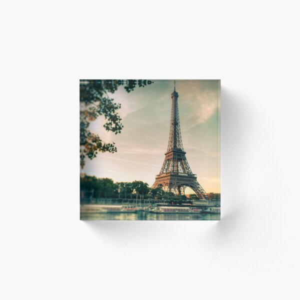 Paris Acrylic Block