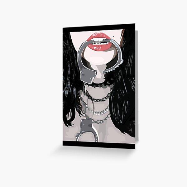 Kinky Greeting Card