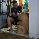 Working in home by Ehivar Flores Herrera