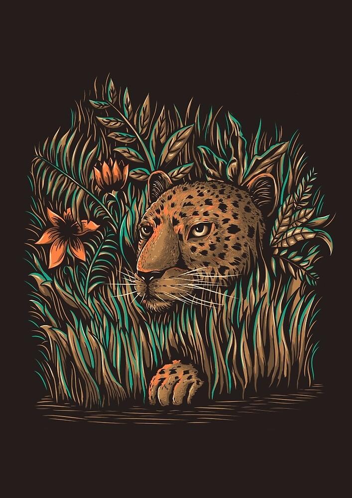 leopard by motymotymoty
