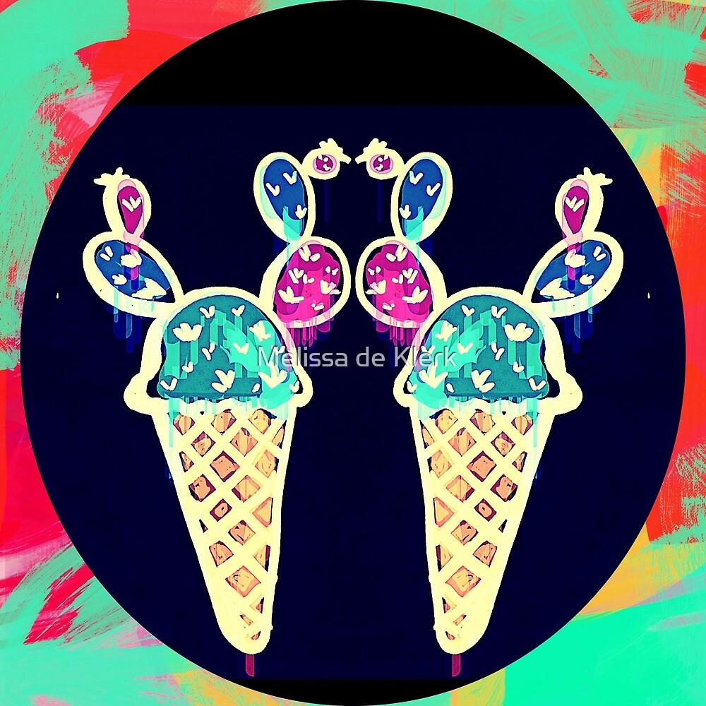 Double Cone Ice Cream by Melissa de Klerk