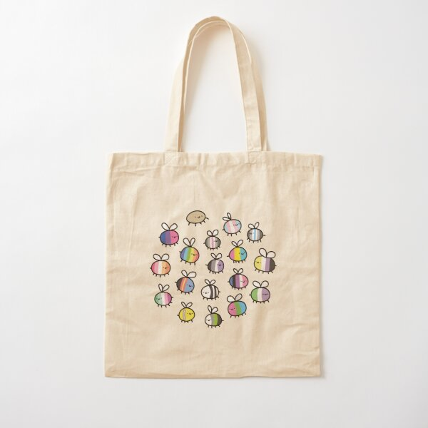 bees  Cotton Tote Bag
