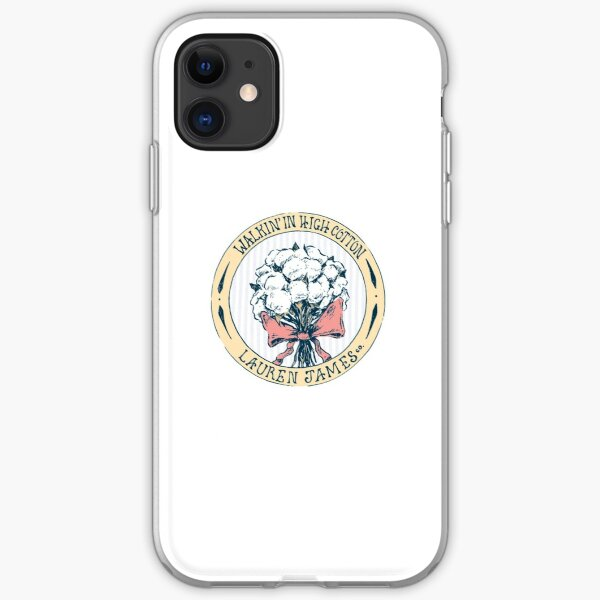 Walking in High Cotton iPhone Soft Case