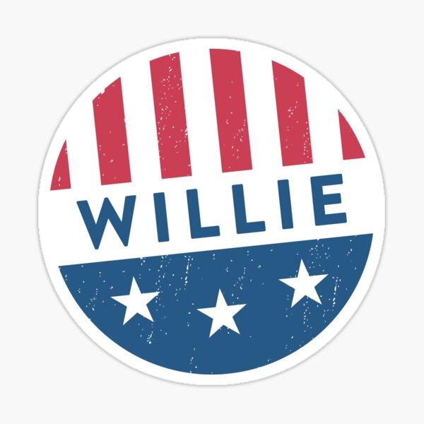 Vote Willie! Sticker