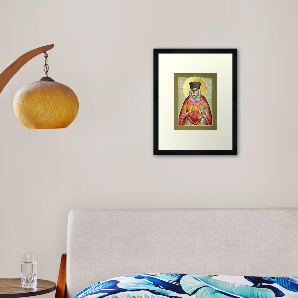 St Nicholas Planas Framed Art Print