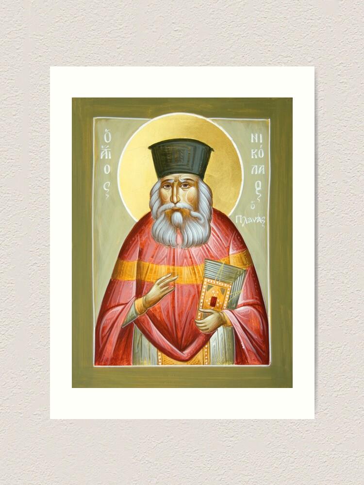 Alternate view of St Nicholas Planas Art Print