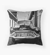 Buick Eight Throw Pillow