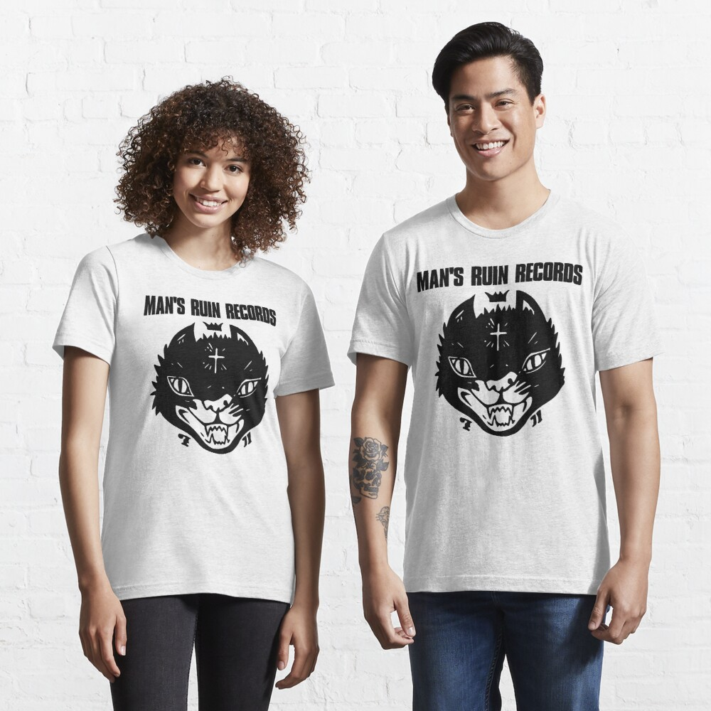 Man's Ruin Records Cat Essential T-Shirt