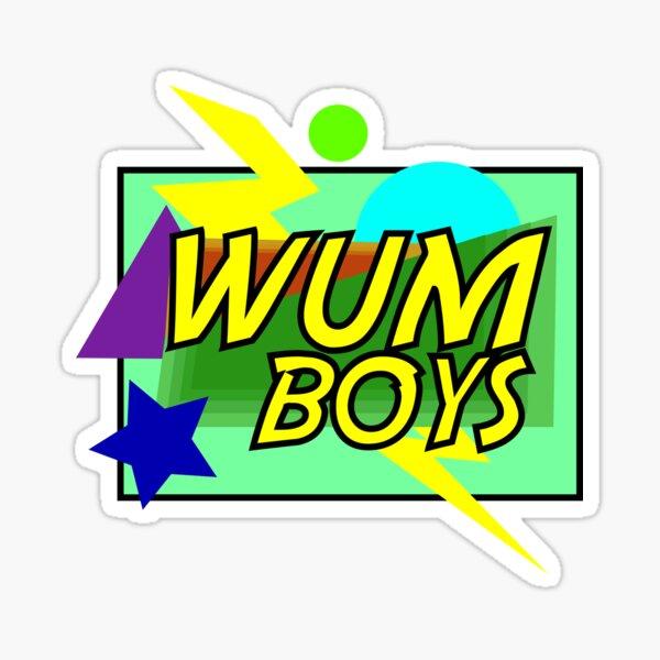 WUMboys Sticker