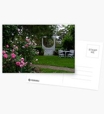 Country Cottage Garden Postcards