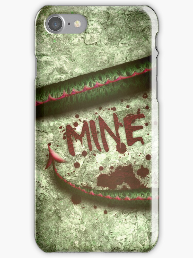Dragon mine... iPhone Case by Sybille Sterk