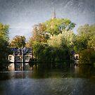 In Brugge - Minnewater by Caroline Gorka