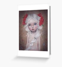 If I told you a flower bloomed in the dark Greeting Card