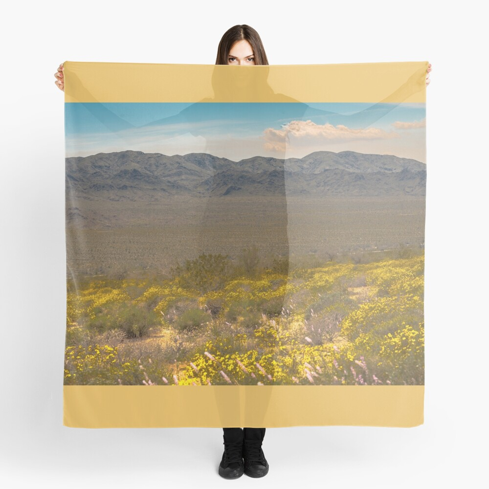 Super Bloom Paradise Joshua Tree 7333 Scarf