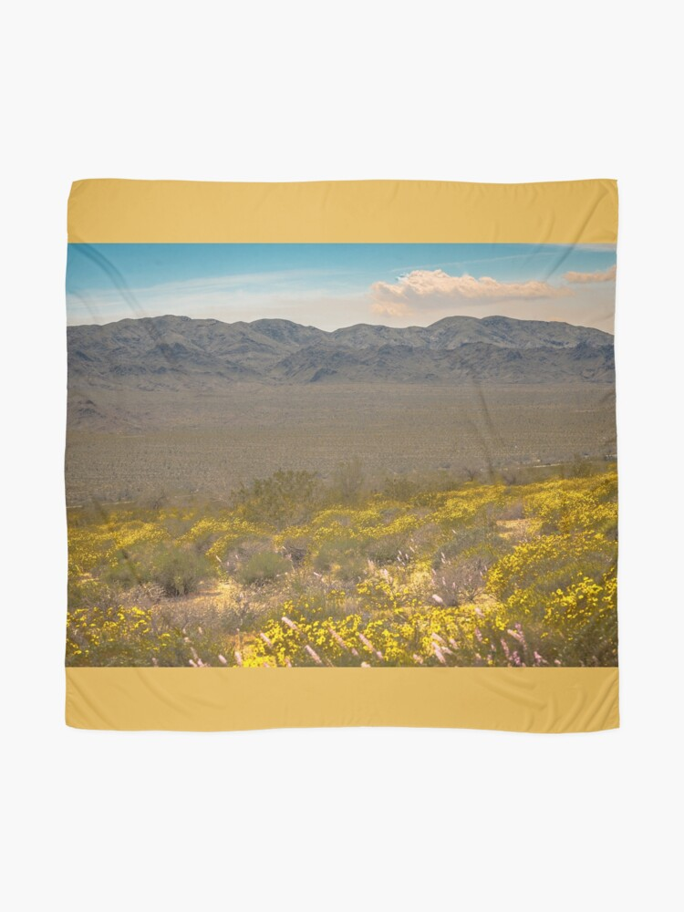 Alternate view of Super Bloom Paradise Joshua Tree 7333 Scarf