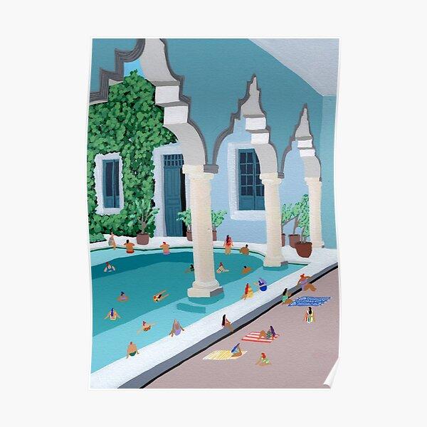 Merida Courtyard Poster