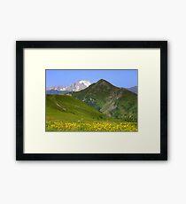 Lámina enmarcada Dolomites