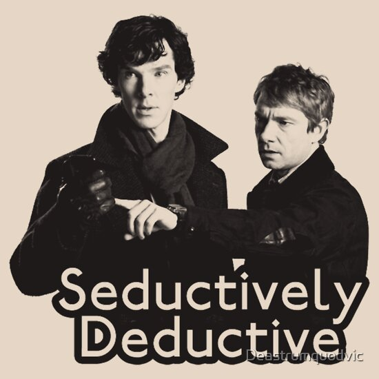 TShirtGifter presents: Seductively Deductive