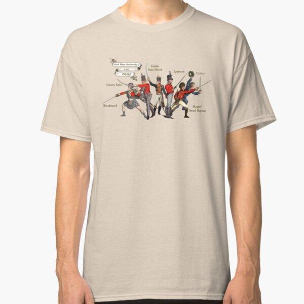 British Military Swordsmanship 1796-1821 Classic T-Shirt