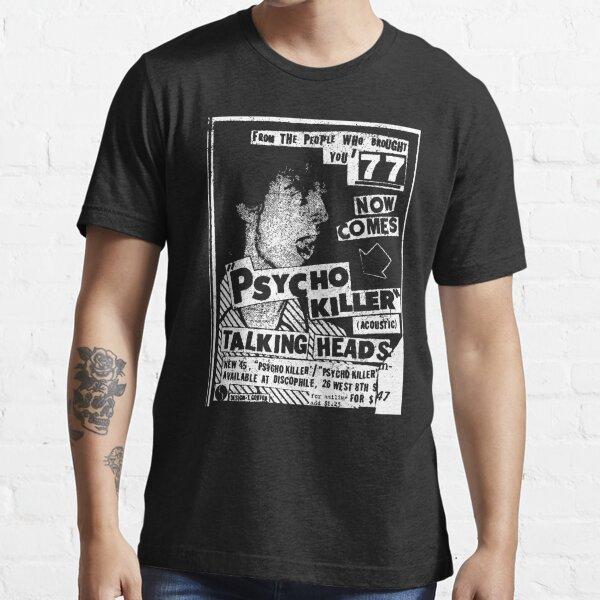 Psycho Killer 77 (distressed design) Essential T-Shirt