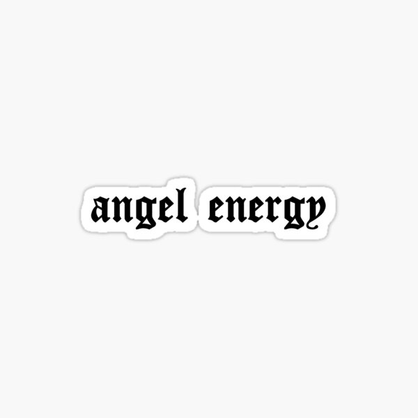 ANGEL ENERGY Pegatina