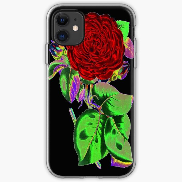 Neon Flower © iPhone Soft Case