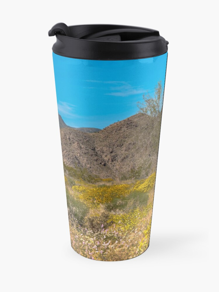 Alternate view of Super Bloom Paradise Joshua Tree 7305 Travel Mug