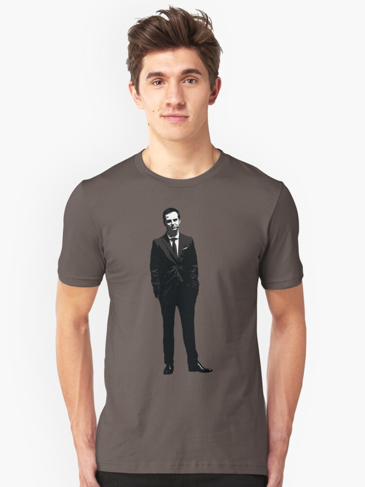 Jim Moriarty, Consulting Criminal Unisex T-Shirt Front