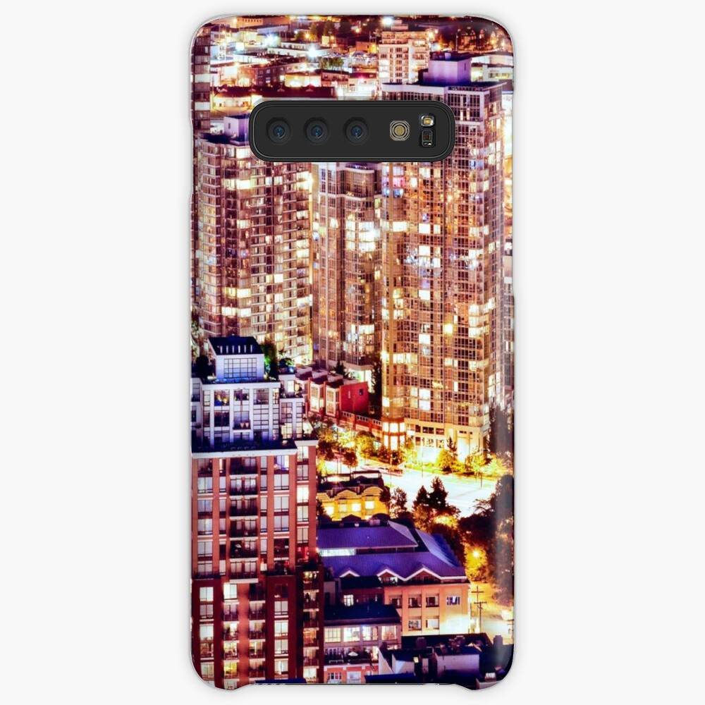 1553 Yuppie Yaletown Vancouver Cityscape Canada Case & Skin for Samsung Galaxy