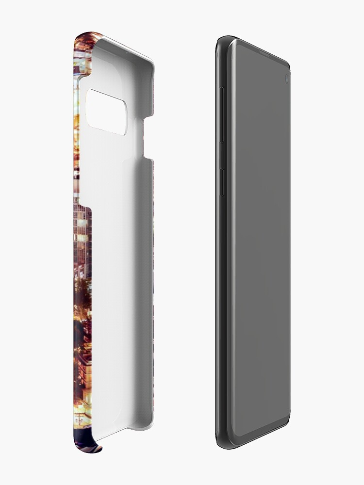 Alternate view of 1553 Yuppie Yaletown Vancouver Cityscape Canada Case & Skin for Samsung Galaxy