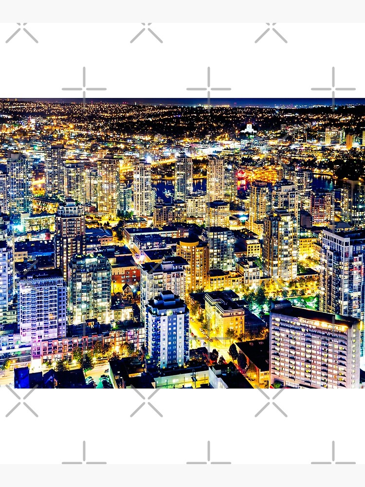 1560 Golden Luminous Yaletown Vancouver Canada by neptuneimages