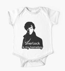 Sherlock is My Homeboy Kids Clothes