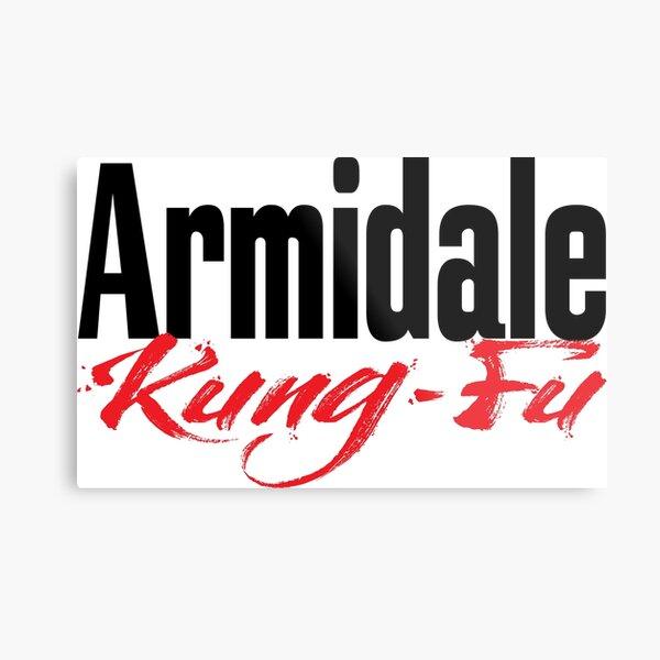 Armidale Kung Fu New South Wales Australia Raised Me Metal Print