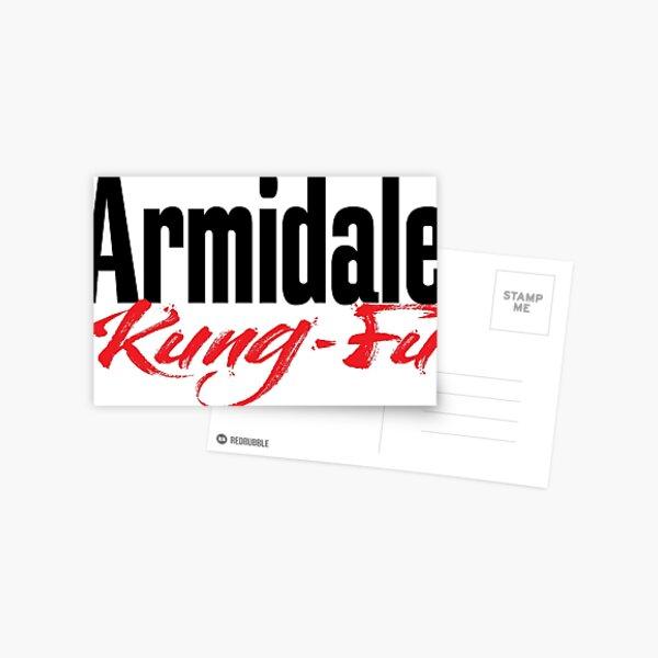 Armidale Kung Fu New South Wales Australia Raised Me Postcard