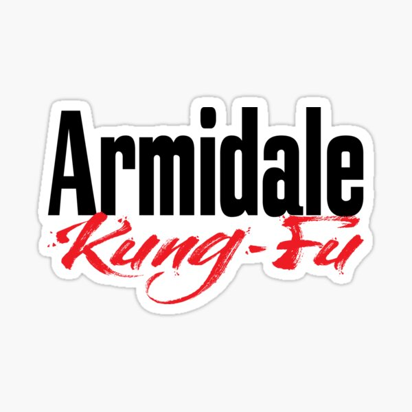 Armidale Kung Fu New South Wales Australia Raised Me Sticker