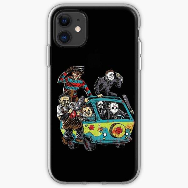 The Massacre Machine Horror iPhone Soft Case