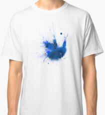 Splash Space Blue Classic T-Shirt