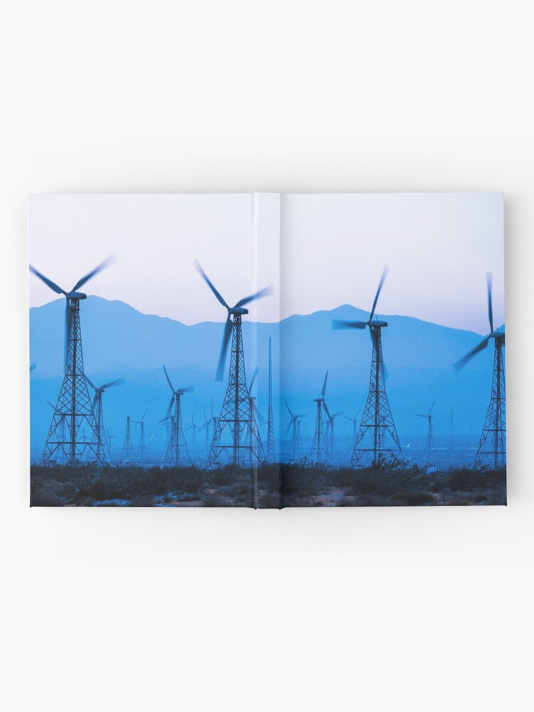 Alternate view of Blue Wind Energy 0286 Hardcover Journal