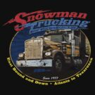 Snowman Trucking by superiorgraphix